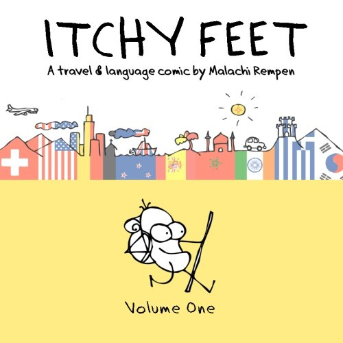 9781492970033: Itchy Feet: A Travel and Language Comic: Volume One: Volume 1