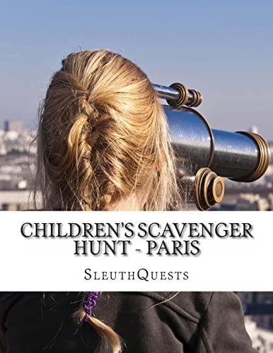 Children's Scavenger Hunt - Paris: SleuthQuests