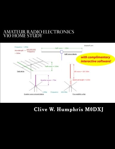 9781492996262: Amateur Radio Electronics V10 Home Study: Portable Learning, Reference and Revision Tools