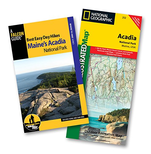 Best Easy Day Hiking Guide and Trail Map Bundle: Acadia National Park (Best Easy Day Hikes Series):...