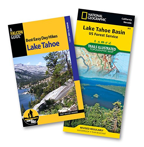 9781493013029: Best Easy Day Hiking Guide and Trail Map Bundle: Lake Tahoe (Best Easy Day Hikes Series)