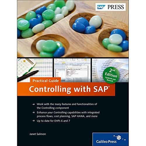 9781493210121: SAP Controlling (SAP CO) in SAP FICO: Business User Guide (SAP PRESS)