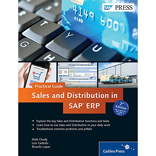 9781493210541: Sales and Distribution in SAP ERP (2nd Edition) (SAP PRESS)