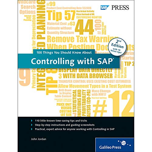 9781493212002: SAP Controlling (SAP CO): 100 Things You Should Know About (2nd Edition)