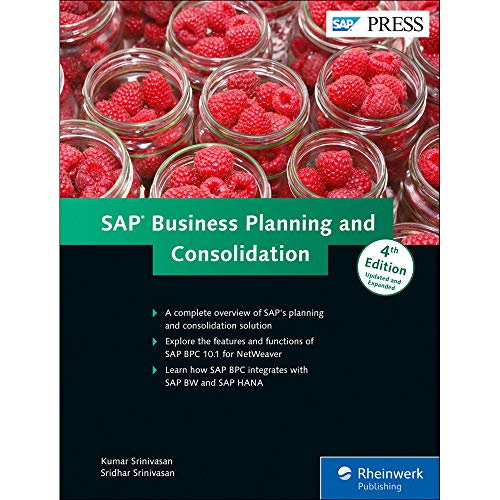 9781493212064: SAP Business Planning and Consolidation; SAP BPC (4th Edition)