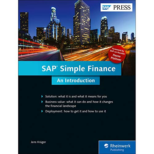 SAP Simple Finance: An Introduction, SAP S/4HANA: Jens Krüger