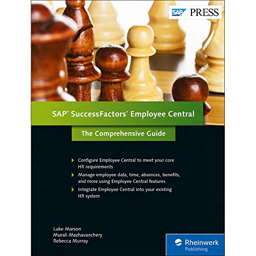 9781493212187: SuccessFactors Employee Central: The Comprehensive Guide (1st Edition) (SAP PRESS)