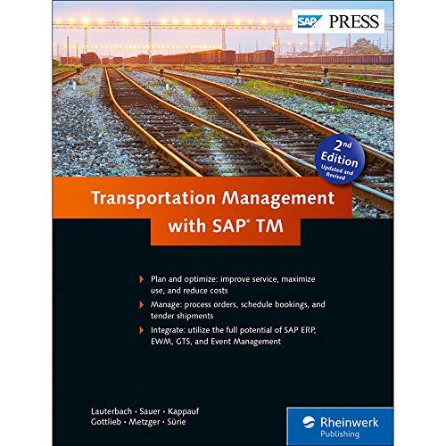 9781493212248: Transportation Management with SAP TM