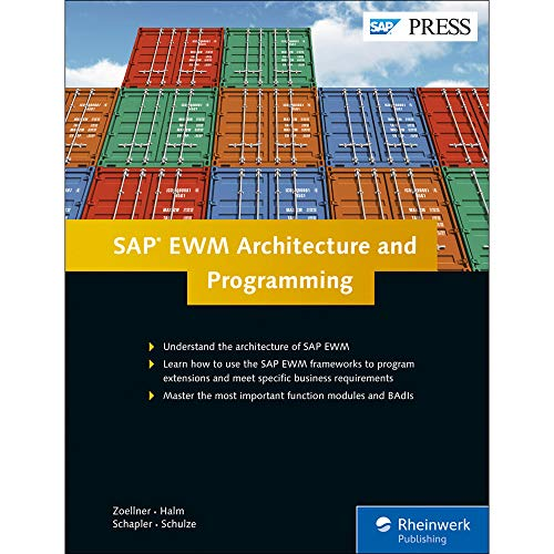 9781493212330: SAP EWM (SAP Extended Warehouse Management) Architecture and Programming (SAP PRESS)