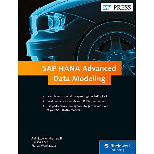 SAP Hana Advanced Data Modeling (Hardback): Anil Babu Ankisettipalli, Hansen Chen, Pranav Wankawala