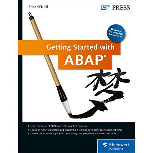 Getting Started with ABAP: Brian O'Neill