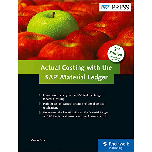 9781493212453: Actual Costing with the Material Ledger in SAP ERP (SAP PRESS)