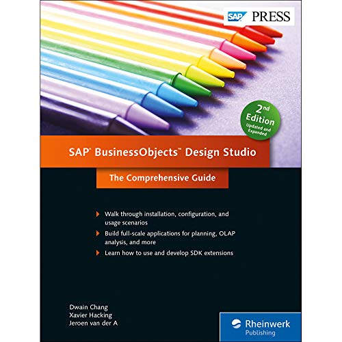 9781493212972: SAP BusinessObjects Design Studio: The Comprehensive Guide