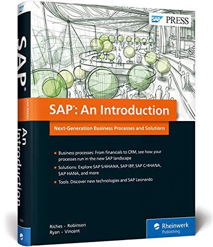 SAP: An Introduction to S/4HANA, SAP IBP,: Matthew Riches