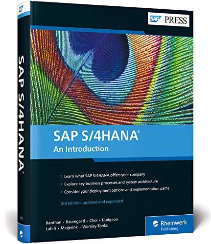 SAP S/4HANA: An Introduction: Devraj Bardhan, Axel