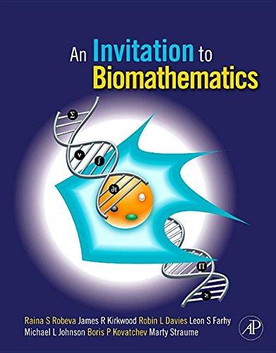 9781493300051: An Invitation to Biomathematics