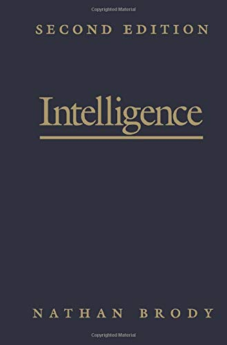9781493300181: Intelligence, Second Edition