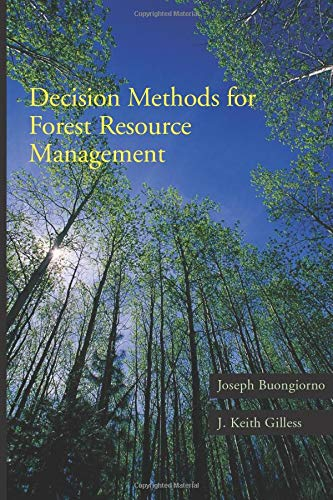 9781493300198: Decision Methods for Forest Resource Management,