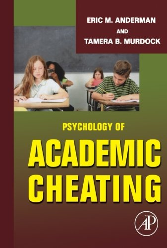 9781493300938: Psychology of Academic Cheating