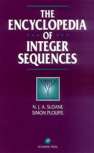 9781493301805: The Encyclopedia of Integer Sequences
