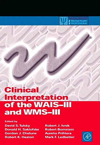 9781493302079: Clinical Interpretation of the WAIS-III and Wms-III