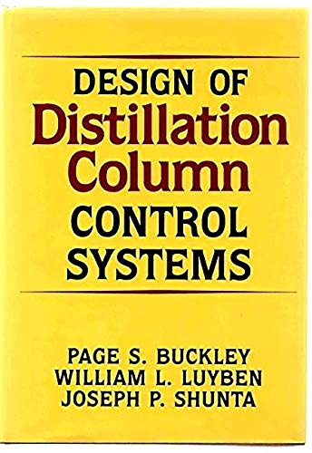 9781493302796: Design of Distillation Column Control Systems