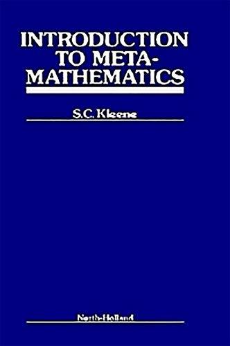9781493302802: Introduction to Metamathematics (Bibliotheca Mathematica)