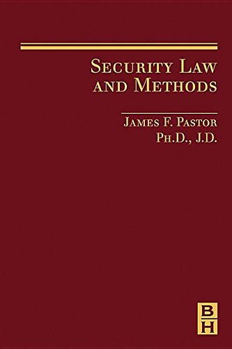 9781493303212: Security Law and Methods