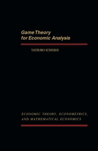 9781493308651: Game Theory for Economic Analysis