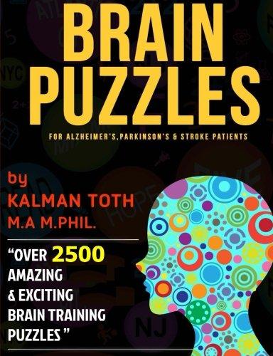 9781493501526: Brain Puzzles for Alzheimer's, Parkinson's & Stroke