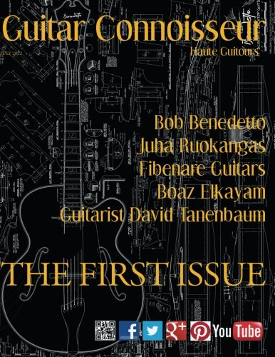 Guitar Connoisseur - The First Issue - Summer 2012: Alonzo, Kelcey