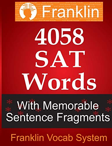 9781493523030: Franklin 4058 SAT Words With Memorable Sentence Fragments
