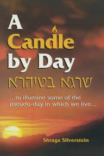 9781493555093: A Candle By Day: Three thousand topical musar modules (mostly one liners) from Rabbi Shraga Silverstein ...to illumine some of the pseudo-day in which we live...