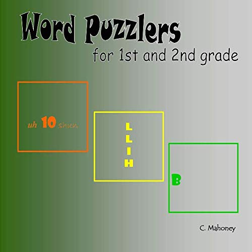 9781493556205: Word Puzzlers for 1st and 2nd graders