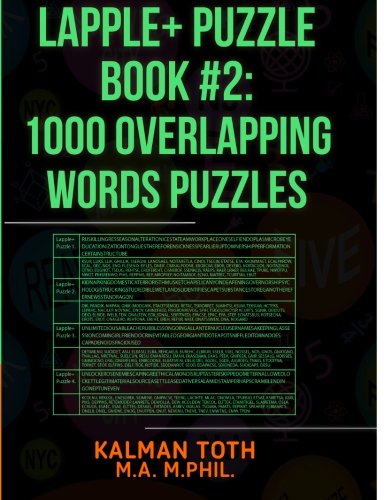 9781493558742: Lapple+ Puzzle Book #2: 1000 Overlapping Words Puzzles: Volume 3 (LAPPLE+ IQ BOOST)