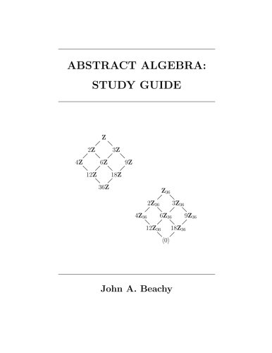 9781493574117: Abstract Algebra: Study Guide