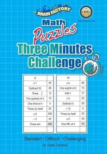 3 Minutes Challenge Puzzles: Zambon, Giulio