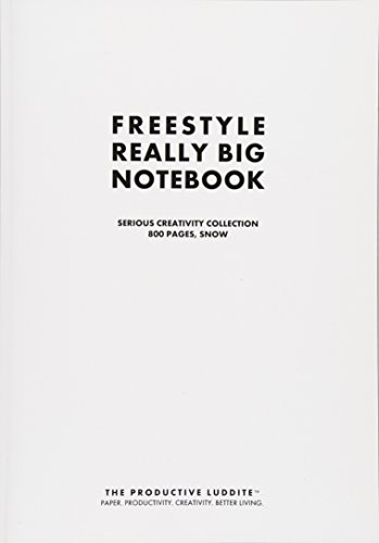 9781493627103: Freestyle Really Big Notebook, Serious Creativity Collection, 800 Pages, Snow