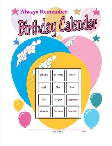9781493630141: Always Remember Birthday Calendar