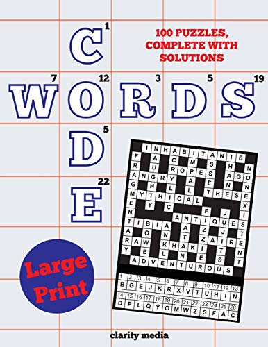 9781493632138: Large Print Code Words: 100 new code word puzzles, in large print