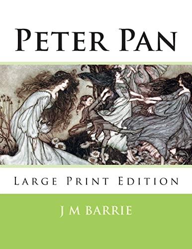 9781493636877: Peter Pan: Large Print Edition