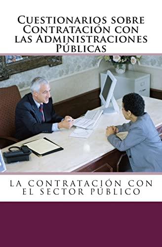 9781493645275: Cuestionarios sobre Contratación con las Administraciones Públicas. (Spanish Edition)