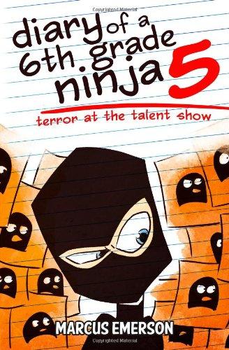 9781493650514: Diary of a 6th Grade Ninja 5: Terror at the Talent Show
