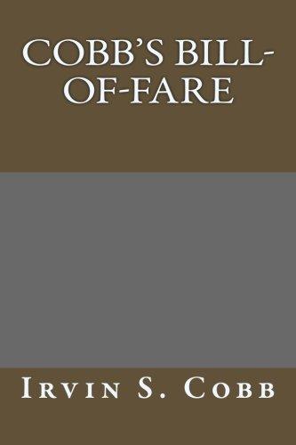9781493712557: Cobb's Bill-of-Fare