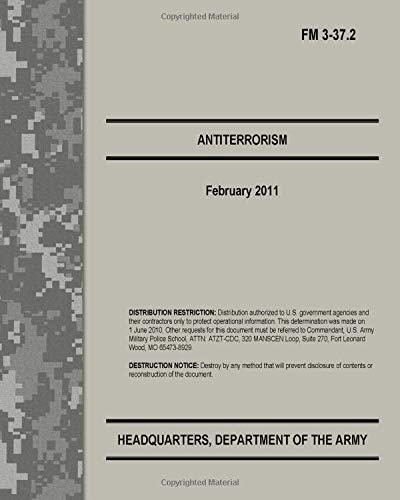 9781493725021: Antiterrorism: FM 3-37.2