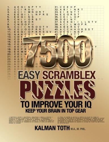 9781493750887: 7500 Easy Scramblex Puzzles To Improve Your IQ