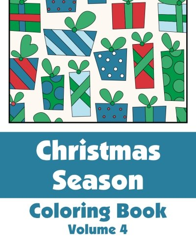 9781493760961: Christmas Season Coloring Book: 4 (Art-Filled Fun Coloring Books)