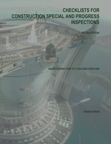 9781493775682: Checklists for Construction Special and Progress Inspections: Second Edition