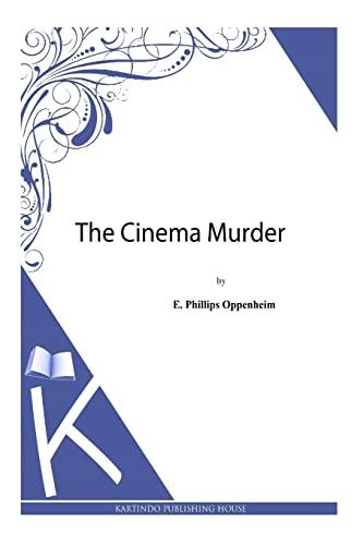 9781493789825: The Cinema Murder