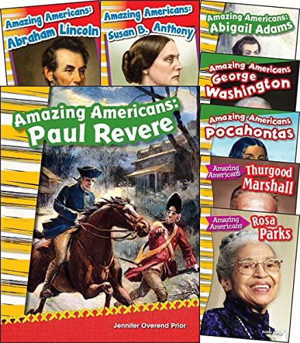 9781493808014: Amazing Americans 8-Book Set (Social Studies Readers)